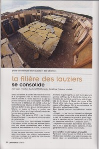 Article Laubamac Pierre Actual 1