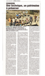 Le journal de Millau 5 oct 2017
